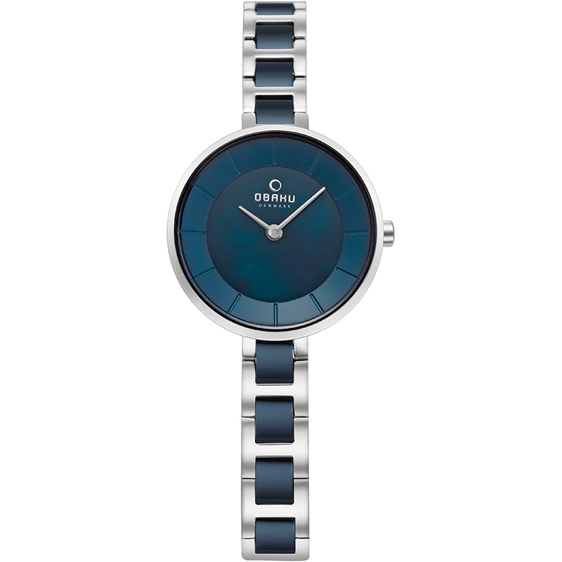 Obaku Women watch VIND - BLUESTEEL FRONT view