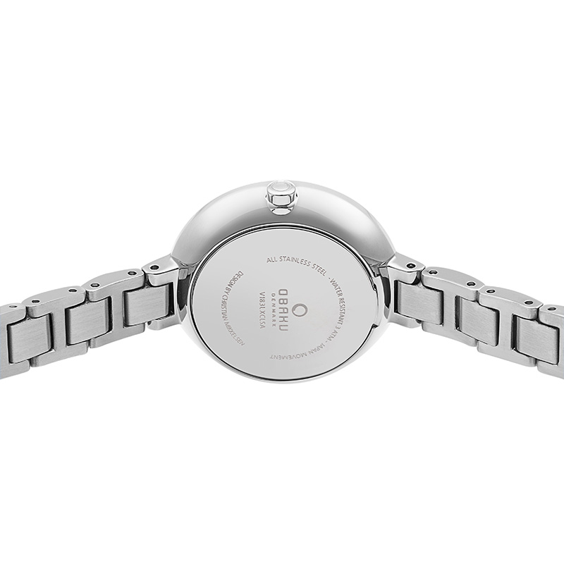 Obaku Women watch VIND - BLUESTEEL BACK view