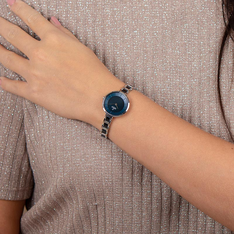 Obaku Women watch VIND - BLUESTEEL WRIST view