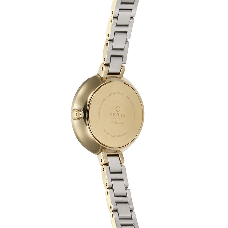 Obaku Women watch VIND - CIDER BACK view