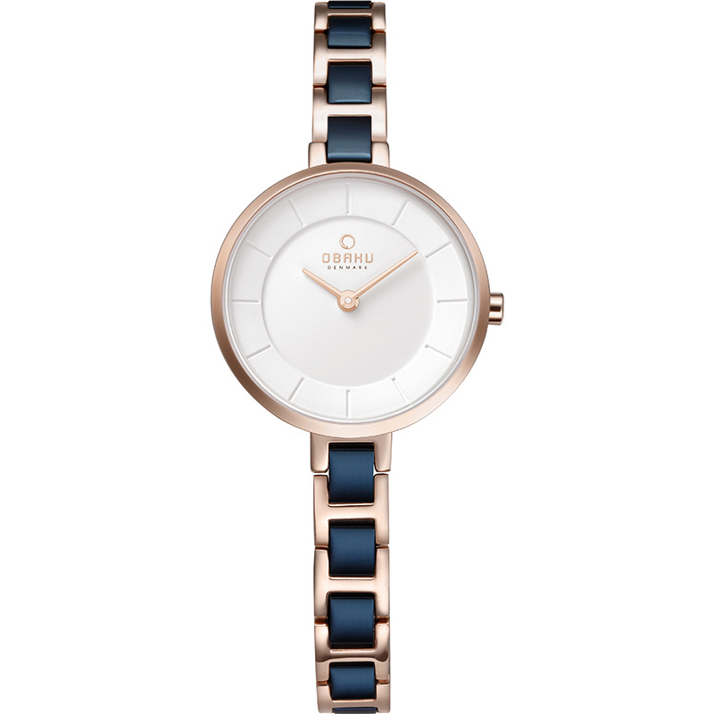 Obaku Women watch VIND - COBALT FRONT view