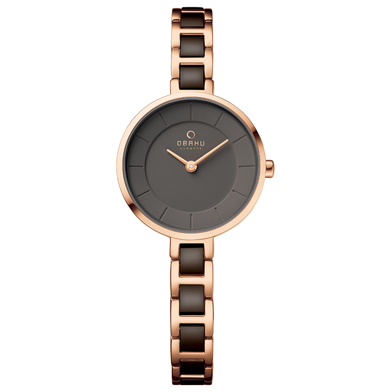 Obaku Women watch VIND - COFFEE