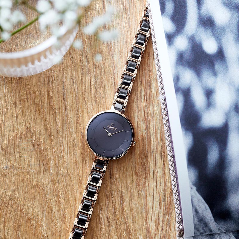 Obaku Women watch VIND - COFFEE SM1 view