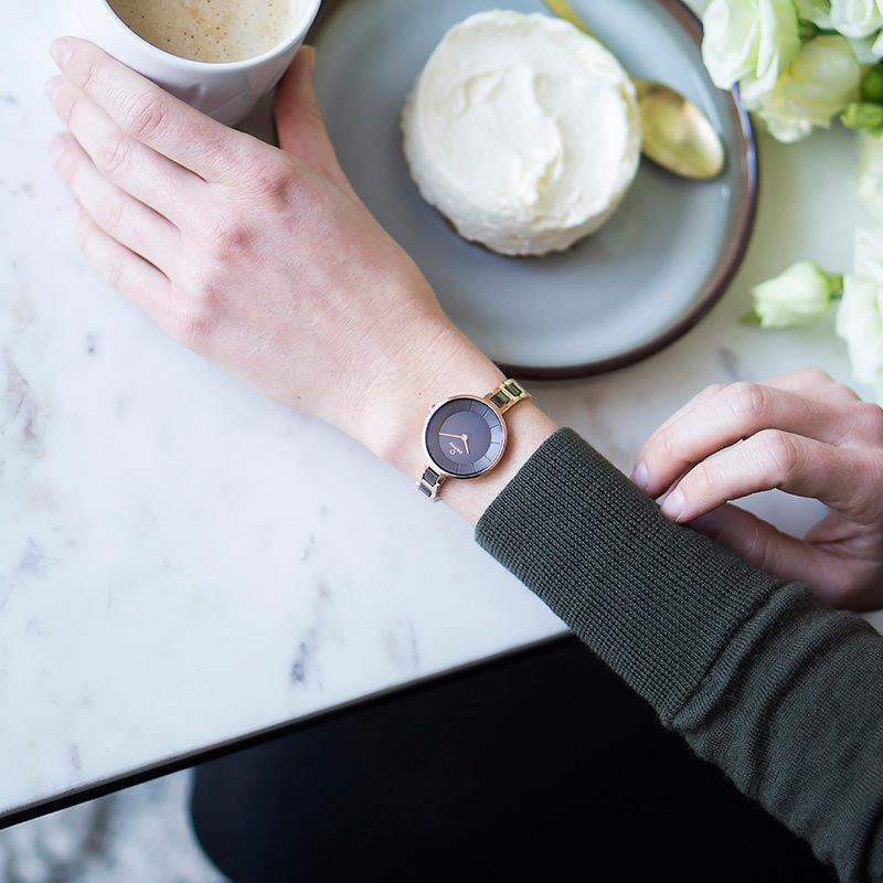 Obaku Women watch VIND - COFFEE SM2 view