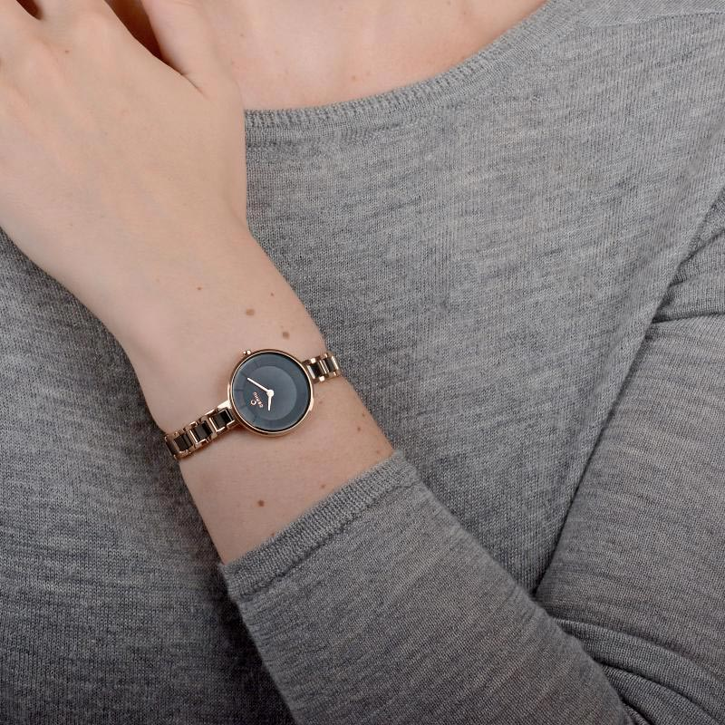 Obaku Women watch VIND - COFFEE WRIST view