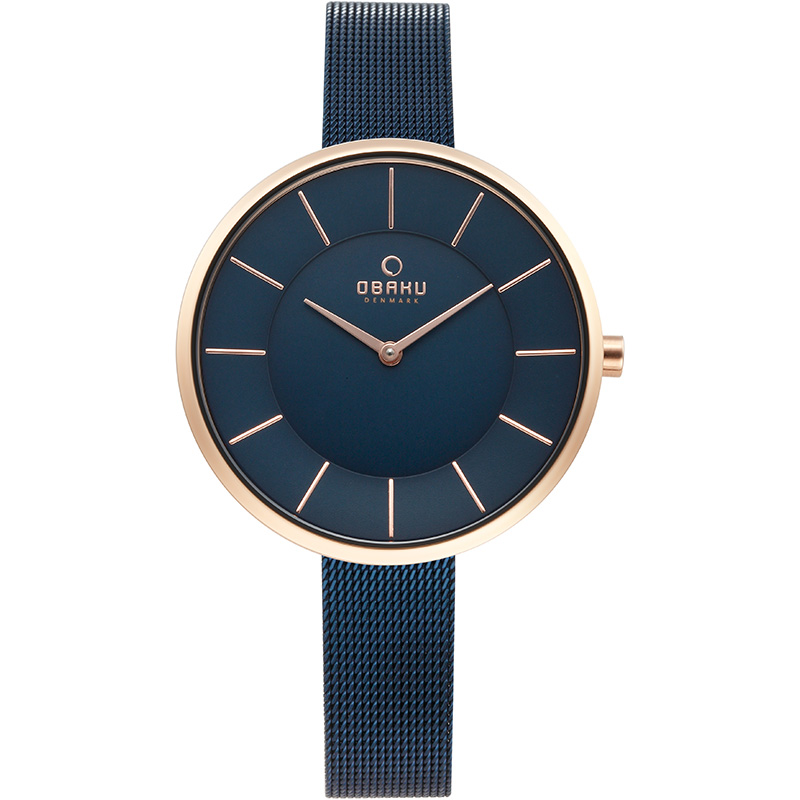 Obaku Women watch SAND - OCEAN FRONT view