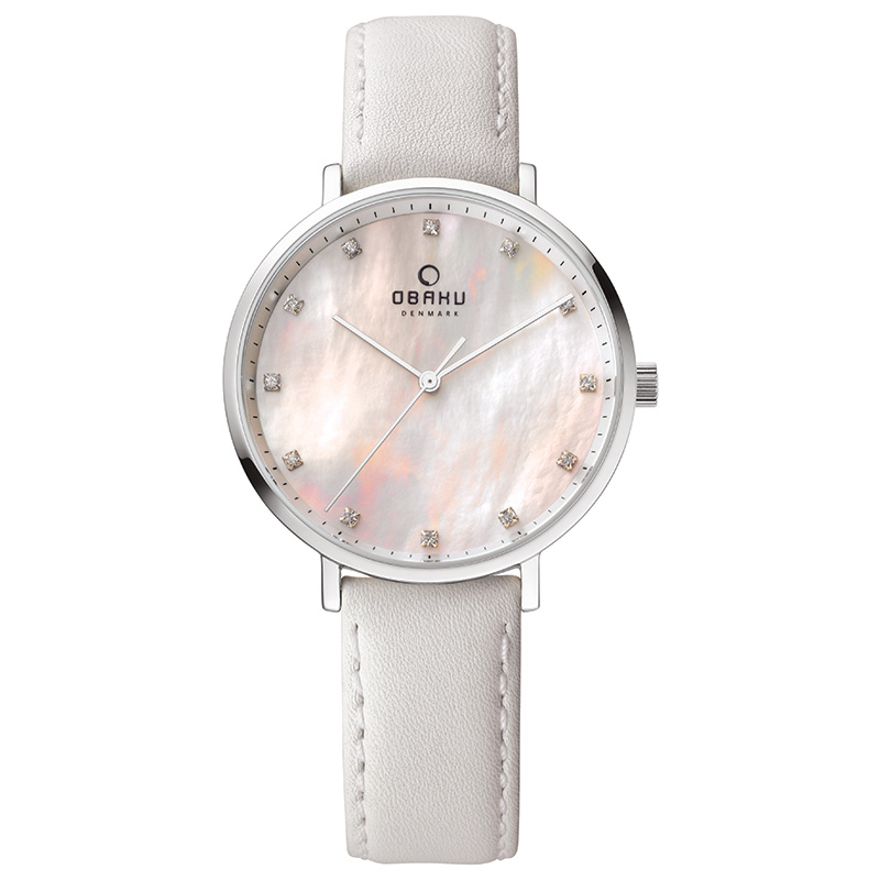Obaku Women watch VEST - SNOW FRONT view