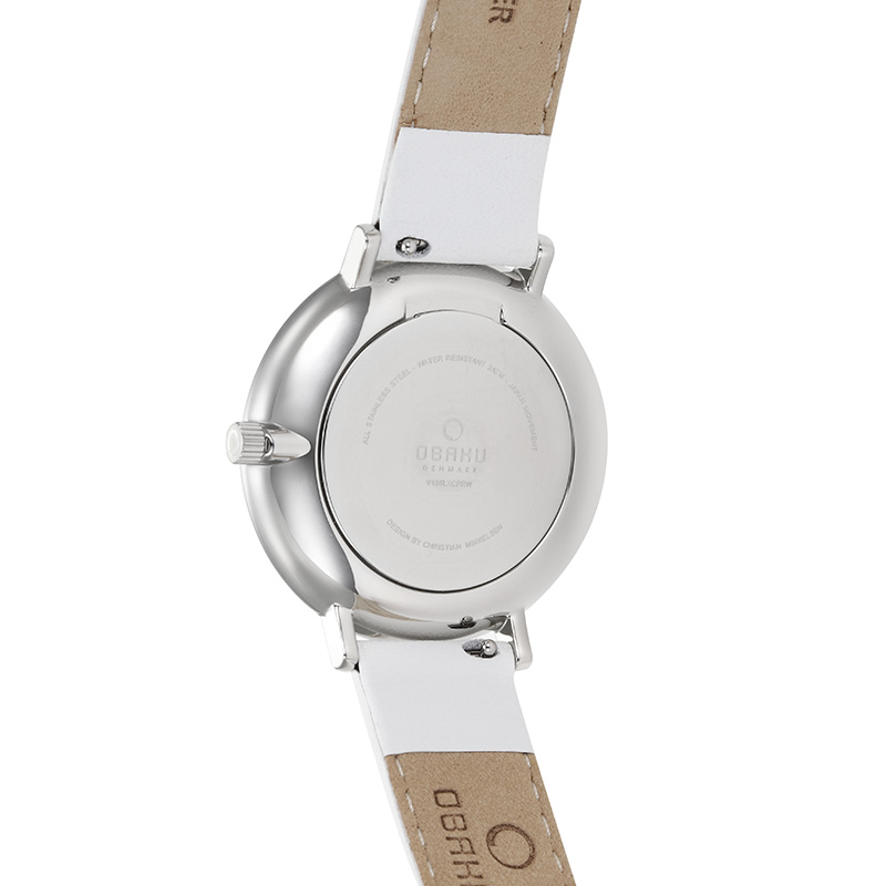 Obaku Women watch VEST - SNOW BACK view