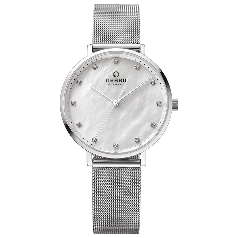 Obaku Women watch VEST - STEEL FRONT view
