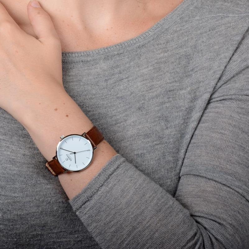 Obaku Women watch VEST - MOCHA SM1 view