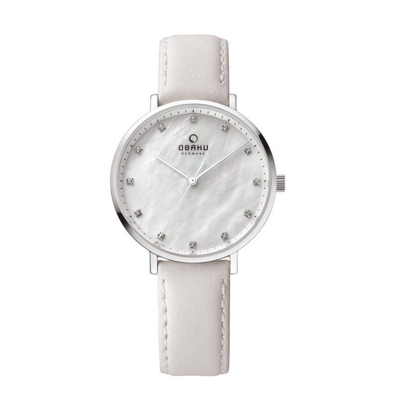 Obaku Women watch VEST - LINEN FRONT view