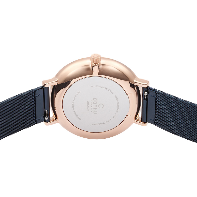 Obaku Women watch VEST - OCEAN BACK view