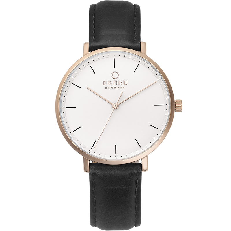 Obaku Women watch VEST - COAL FRONT view