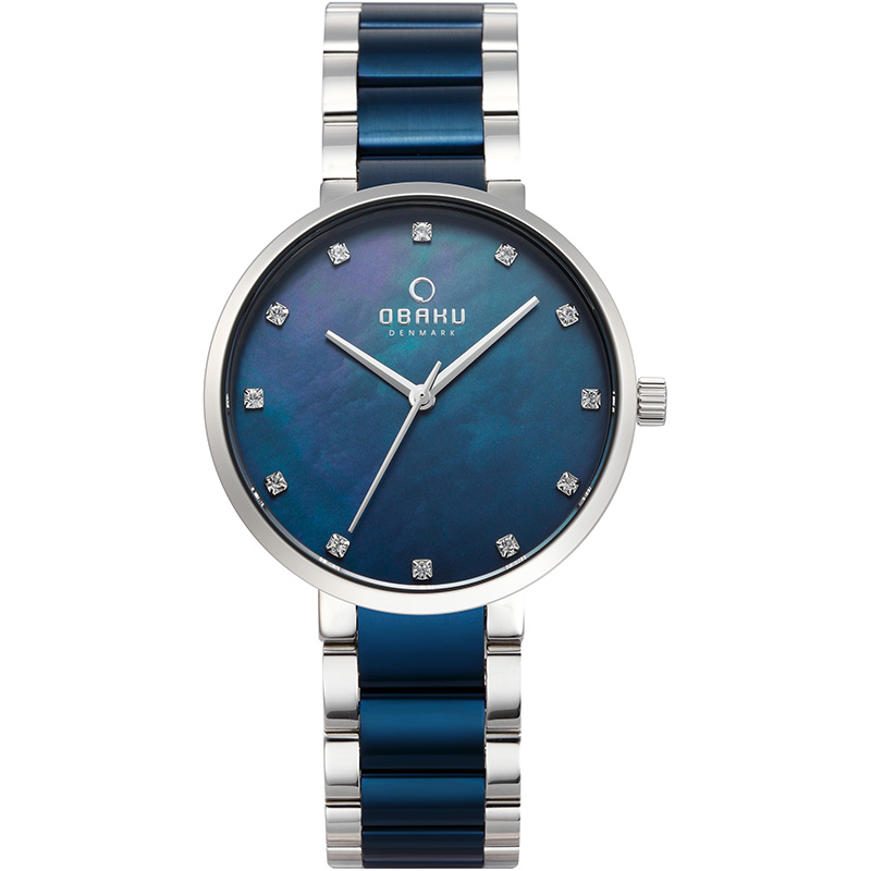 Obaku Women watch GLAD - BLUESTEEL FRONT view