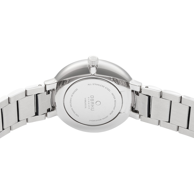 Obaku Women watch GLAD - BLUESTEEL BACK view