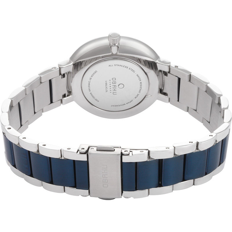 Obaku Women watch GLAD - BLUESTEEL CLOSE view