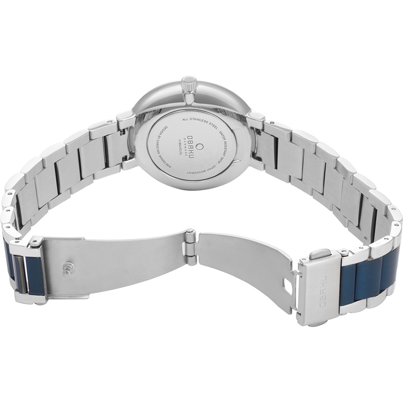 Obaku Women watch GLAD - BLUESTEEL OPEN view