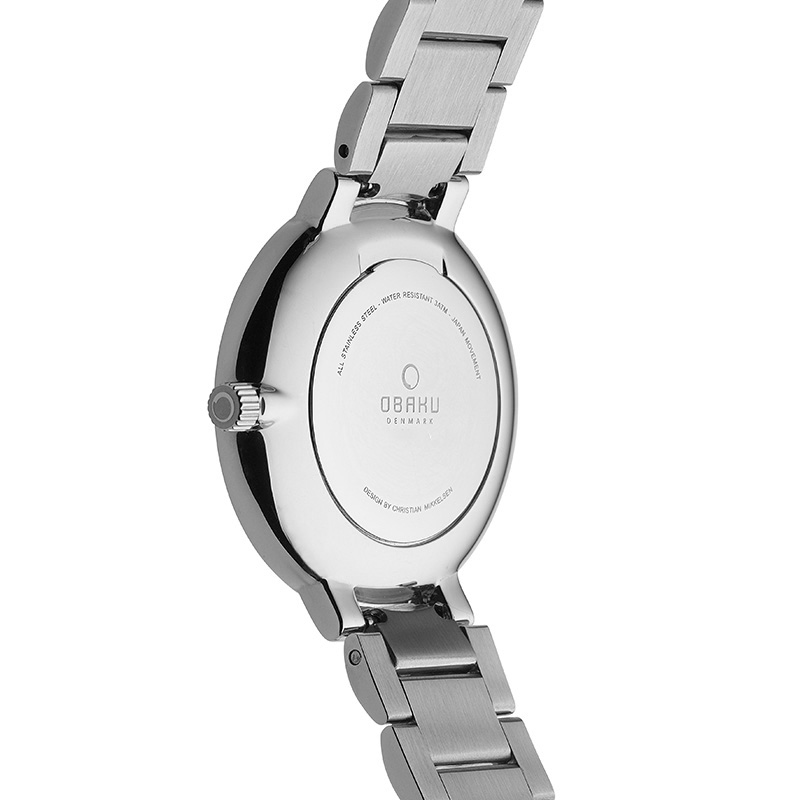 Obaku Women watch GLAD - CORAL BACK view