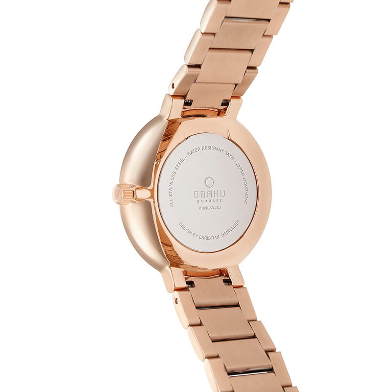Obaku Women watch GLAD - CREPE BACK view