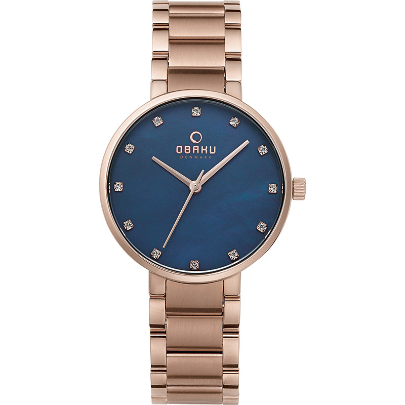 Obaku Women watch GLAD - LAPIS FRONT view