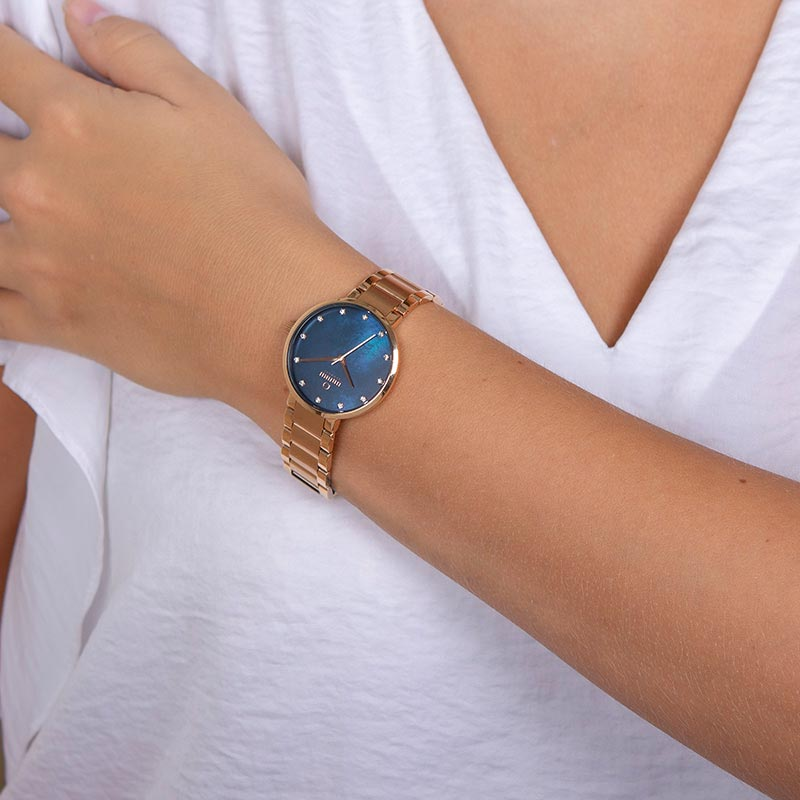 Obaku Women watch GLAD - LAPIS WRIST view