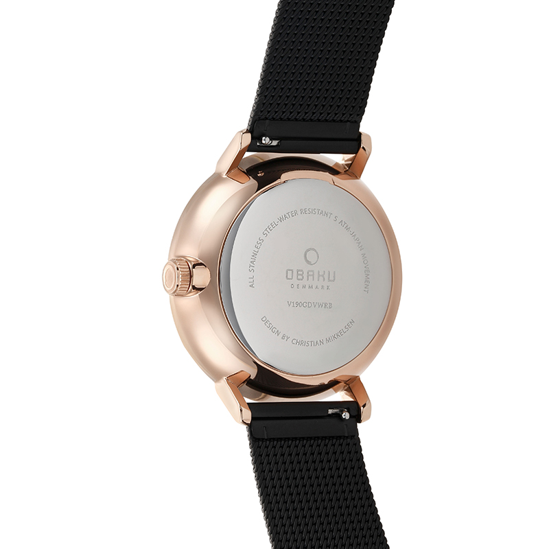 Obaku Men watch RISLEN - NIGHT BACK view