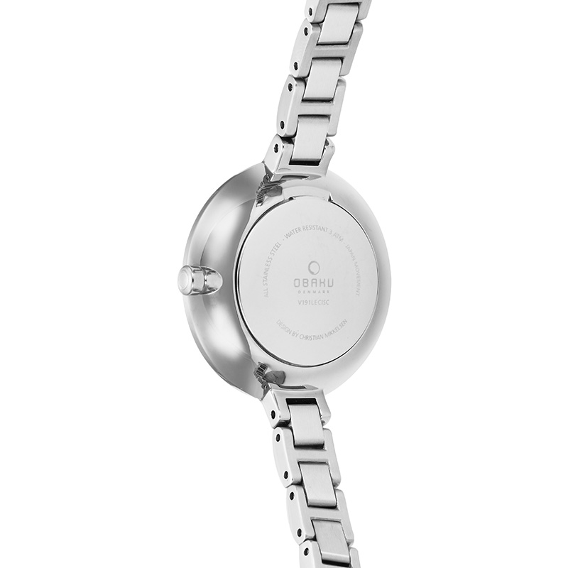Obaku Women watch FROST - PEACH BACK view