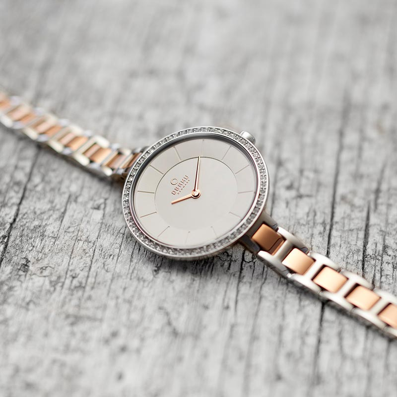 Obaku Women watch FROST - PEACH SM3 view