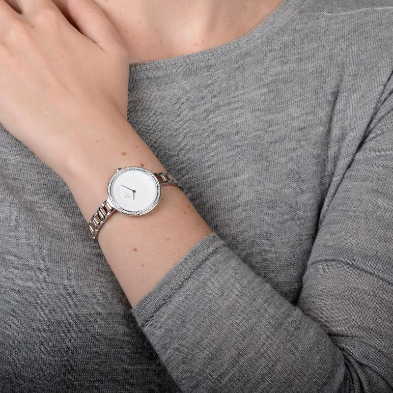 Obaku Women watch FROST - PEACH WRIST view