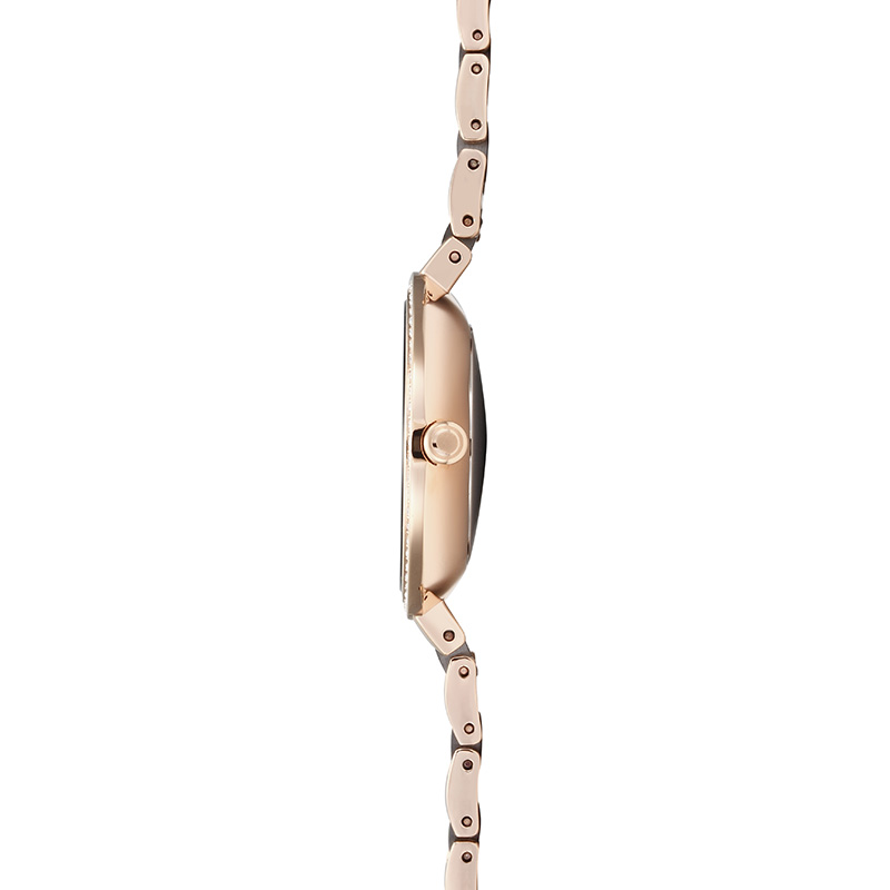 Obaku Women watch FROST - COFFEE SIDE view