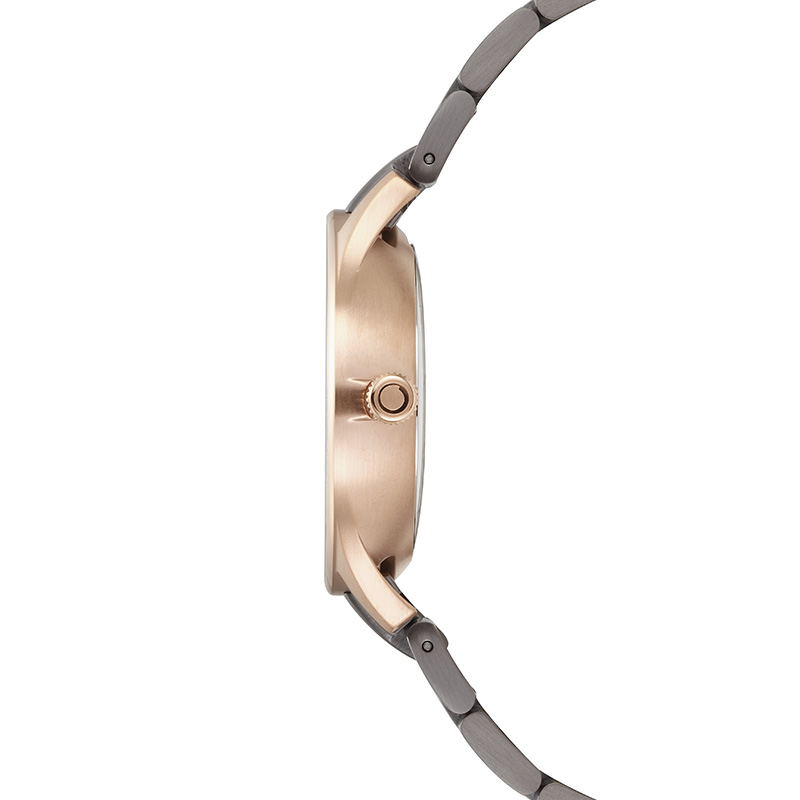 Obaku Men watch LUFT - CREPE SIDE view