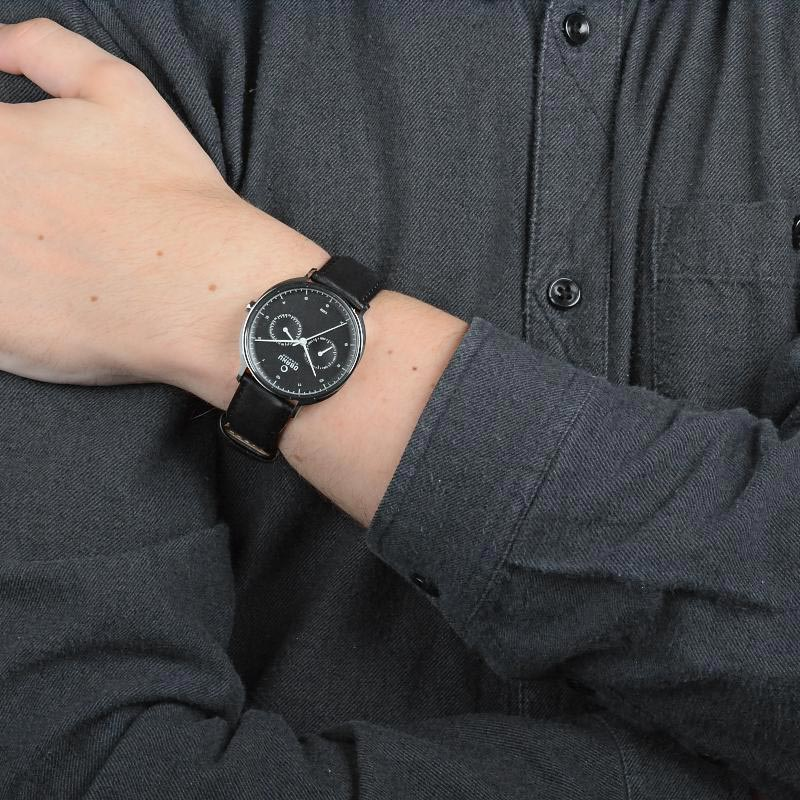 Obaku Men watch AHORN - JET WRIST view