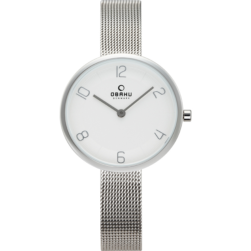 Obaku Women watch VAND - STEEL FRONT view