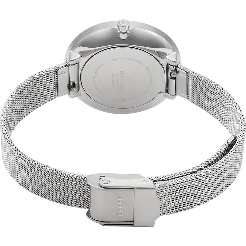 Obaku Women watch VAND - STEEL CLOSE view