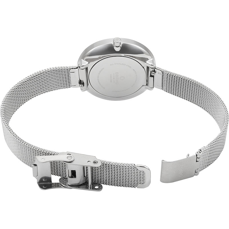 Obaku Women watch VAND - STEEL OPEN view