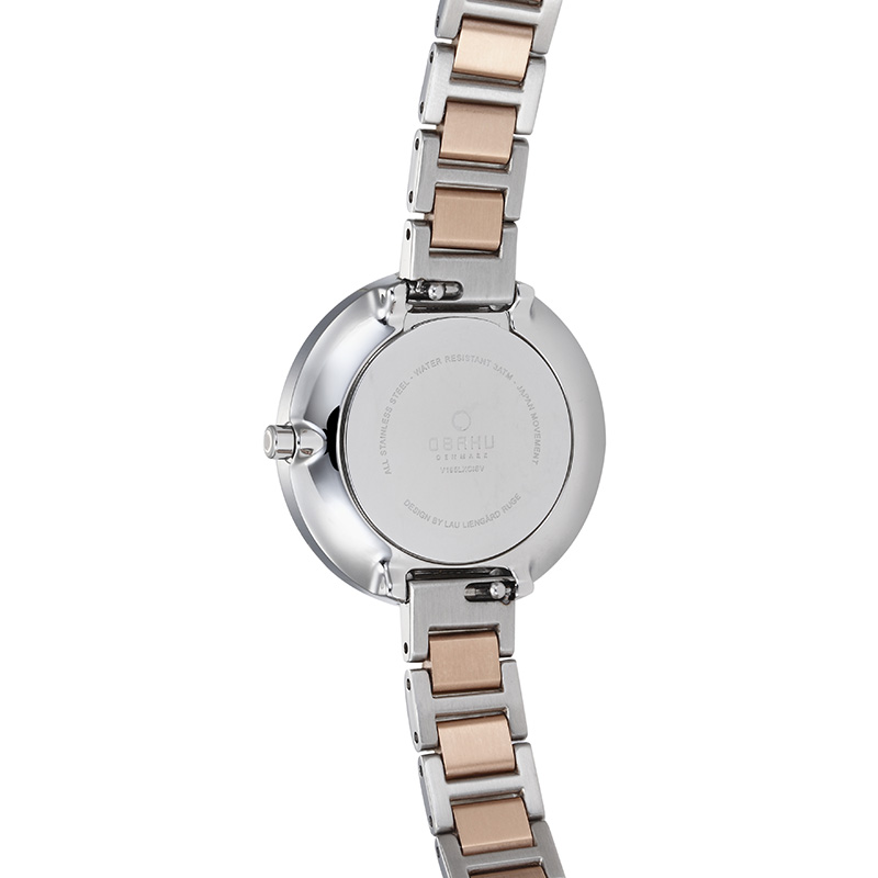 Obaku Women watch VAND - PEACH BACK view