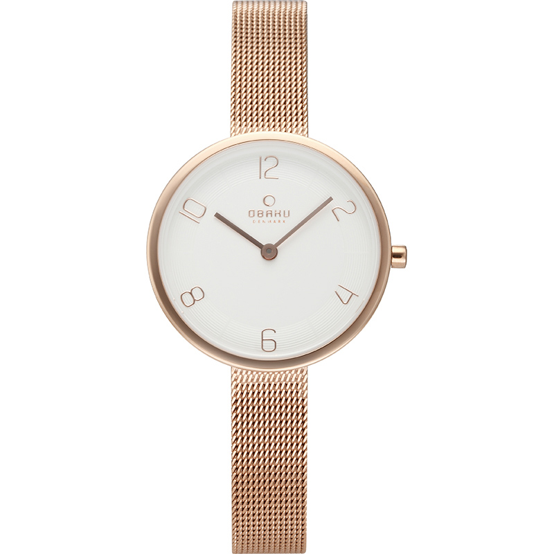 Obaku Women watch VAND - ROSE FRONT view