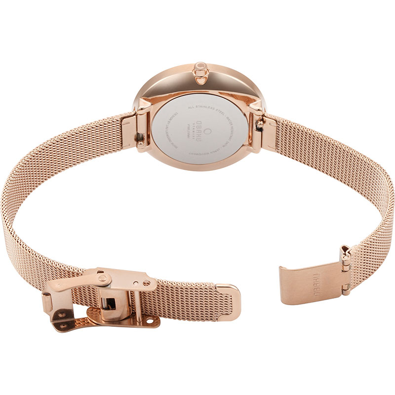 Obaku Women watch VAND - ROSE OPEN view