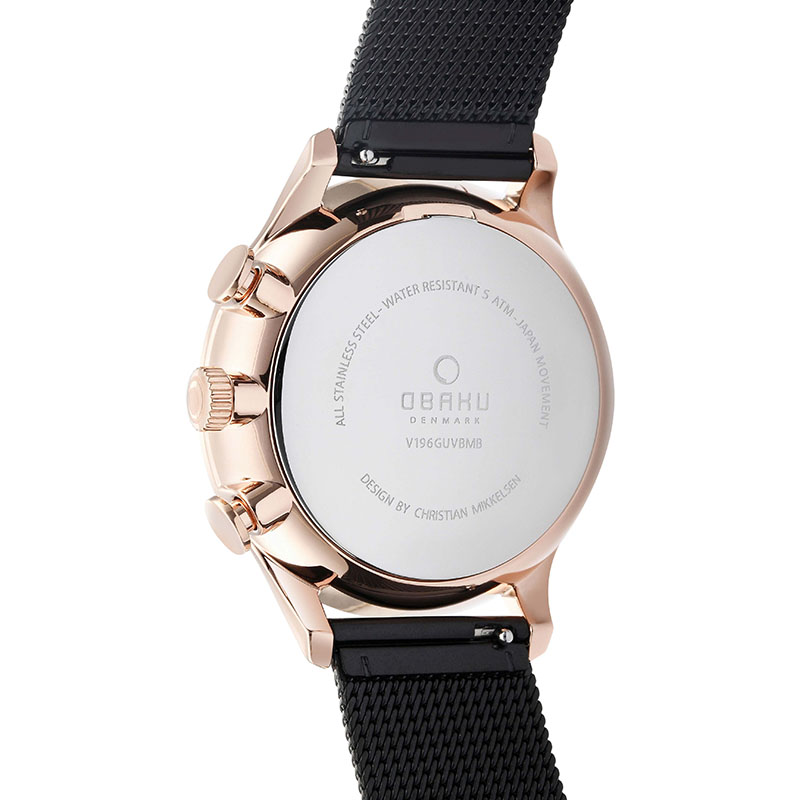 Obaku Men watch GRAN - NIGHT BACK view