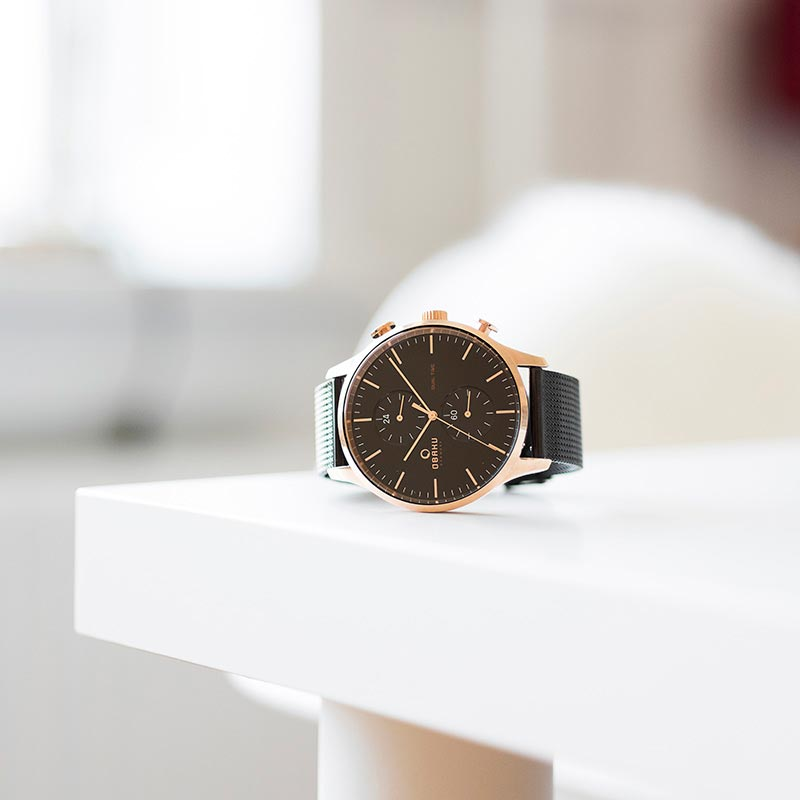 Obaku Men watch GRAN - NIGHT SM1 view