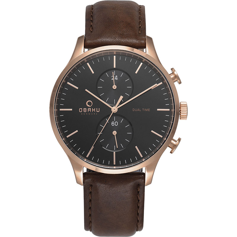 Obaku Men watch GRAN - CEDAR