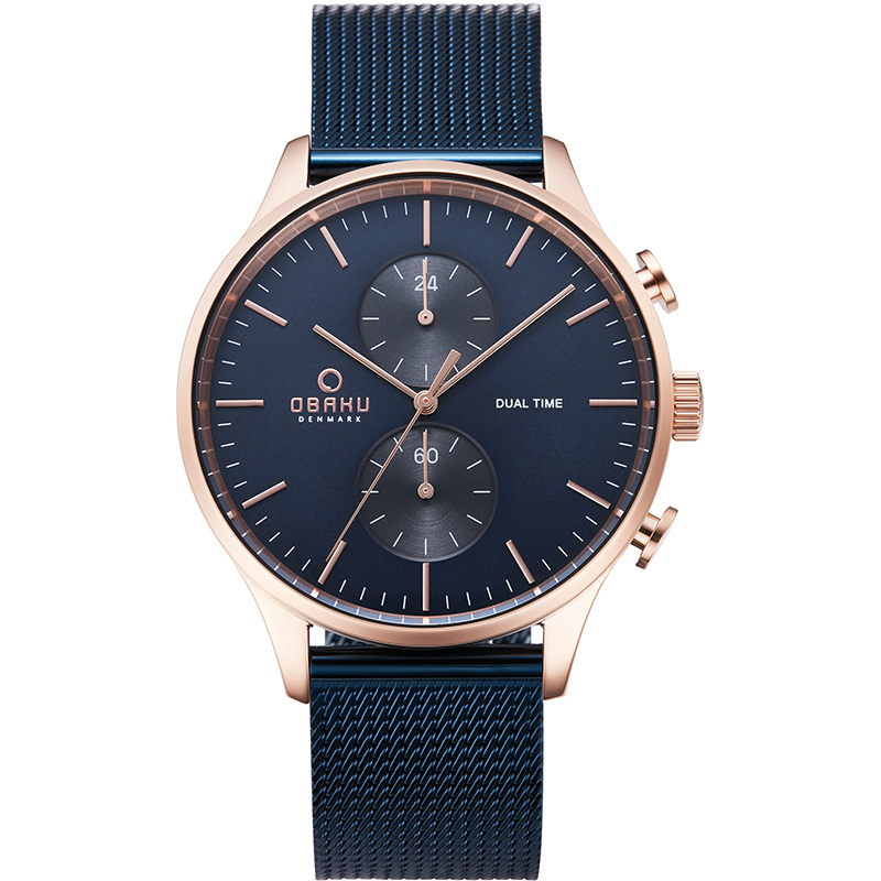 Obaku Men watch GRAN - OCEAN FRONT view