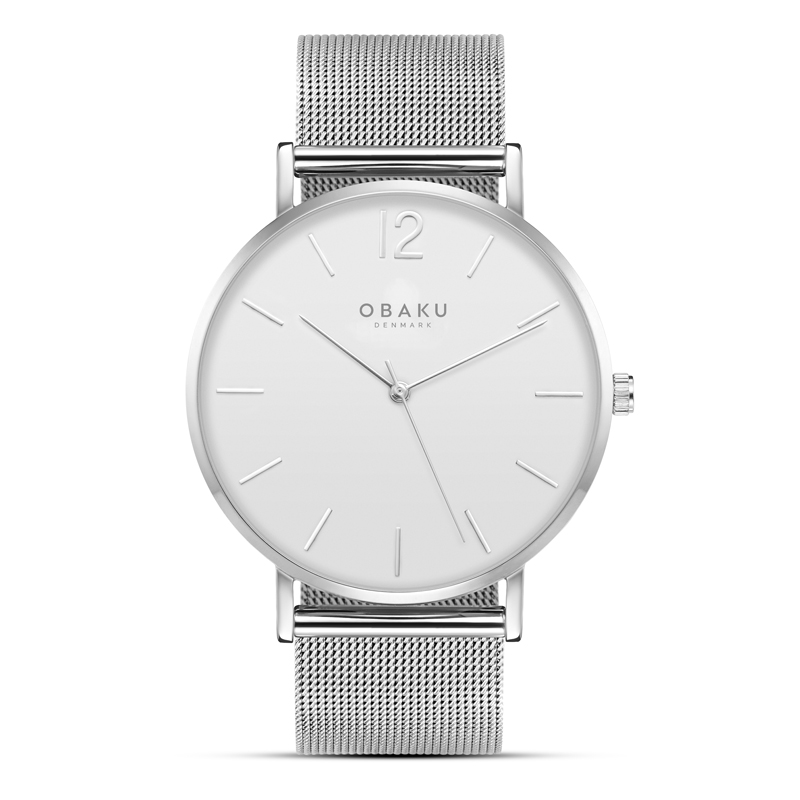 Obaku Men watch MARK - STEEL FRONT view
