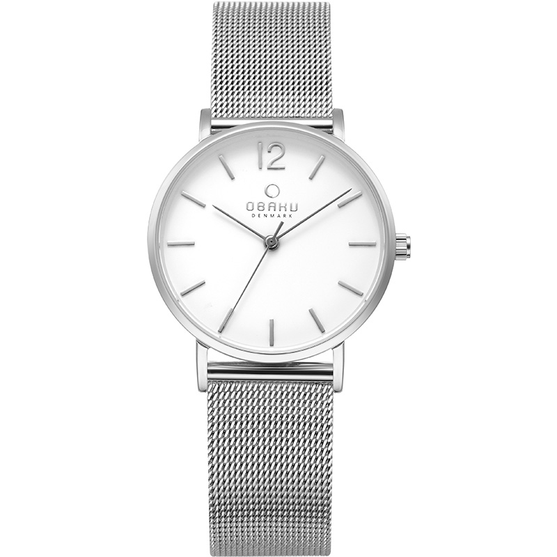 Obaku Women watch MARK LILLE - STEEL FRONT view