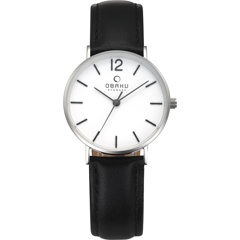 Obaku Women watch MARK LILLE - BLACK FRONT view