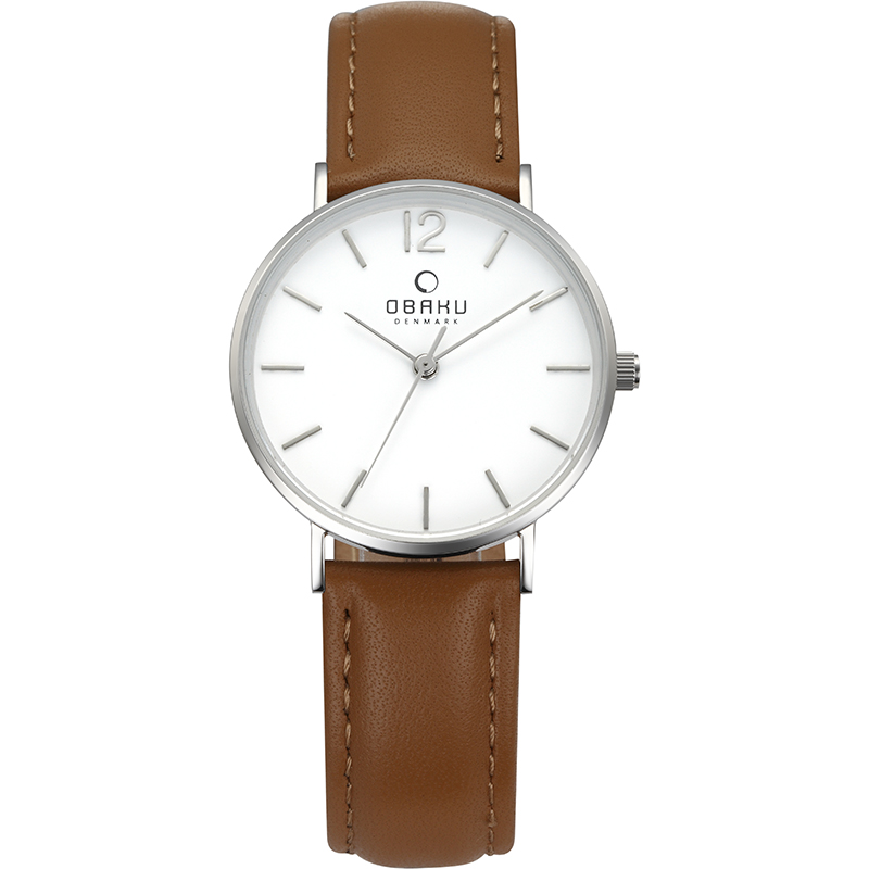 Obaku Women watch MARK LILLE - MOCHA FRONT view