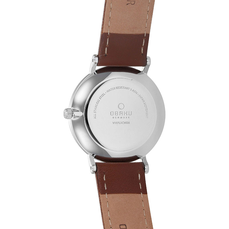 Obaku Women watch MARK LILLE - MOCHA BACK view