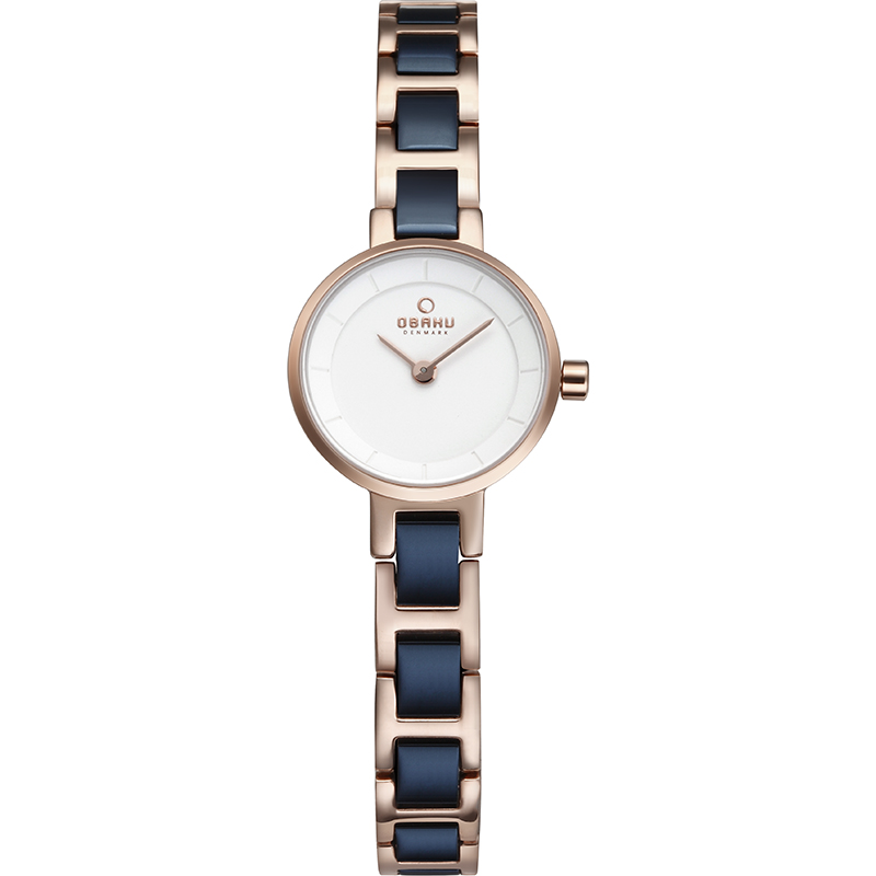 Obaku Women watch LET - COBALT FRONT view