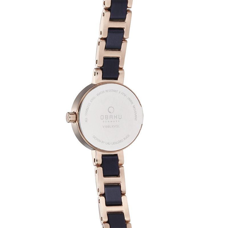Obaku Women watch LET - COBALT BACK view