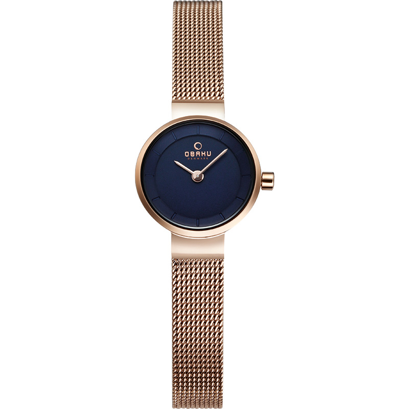 Obaku Women watch SPIRE - AZURE FRONT view